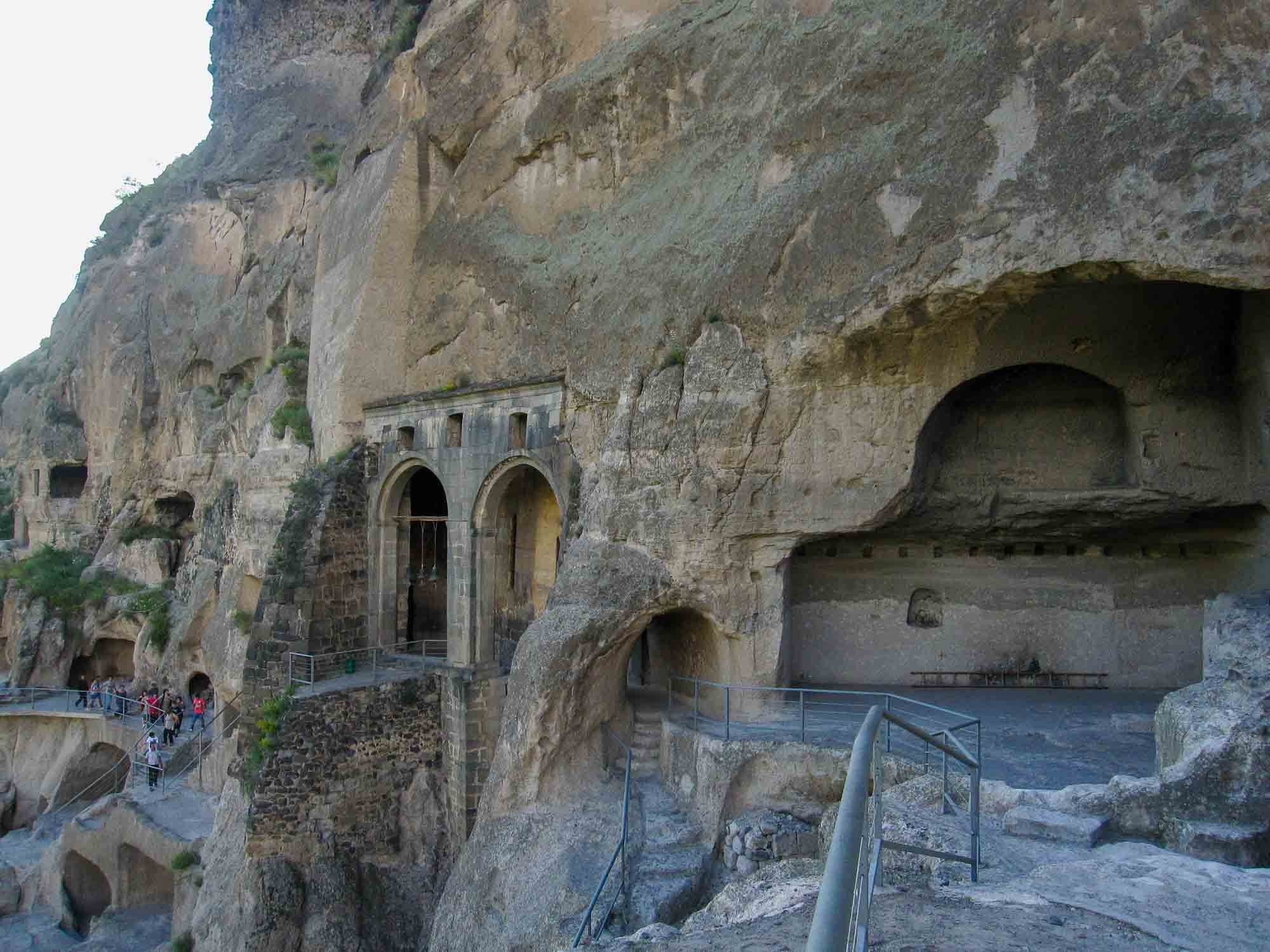 Cave Monastery of Vardzia. Activity holidays with JuriS Travel.