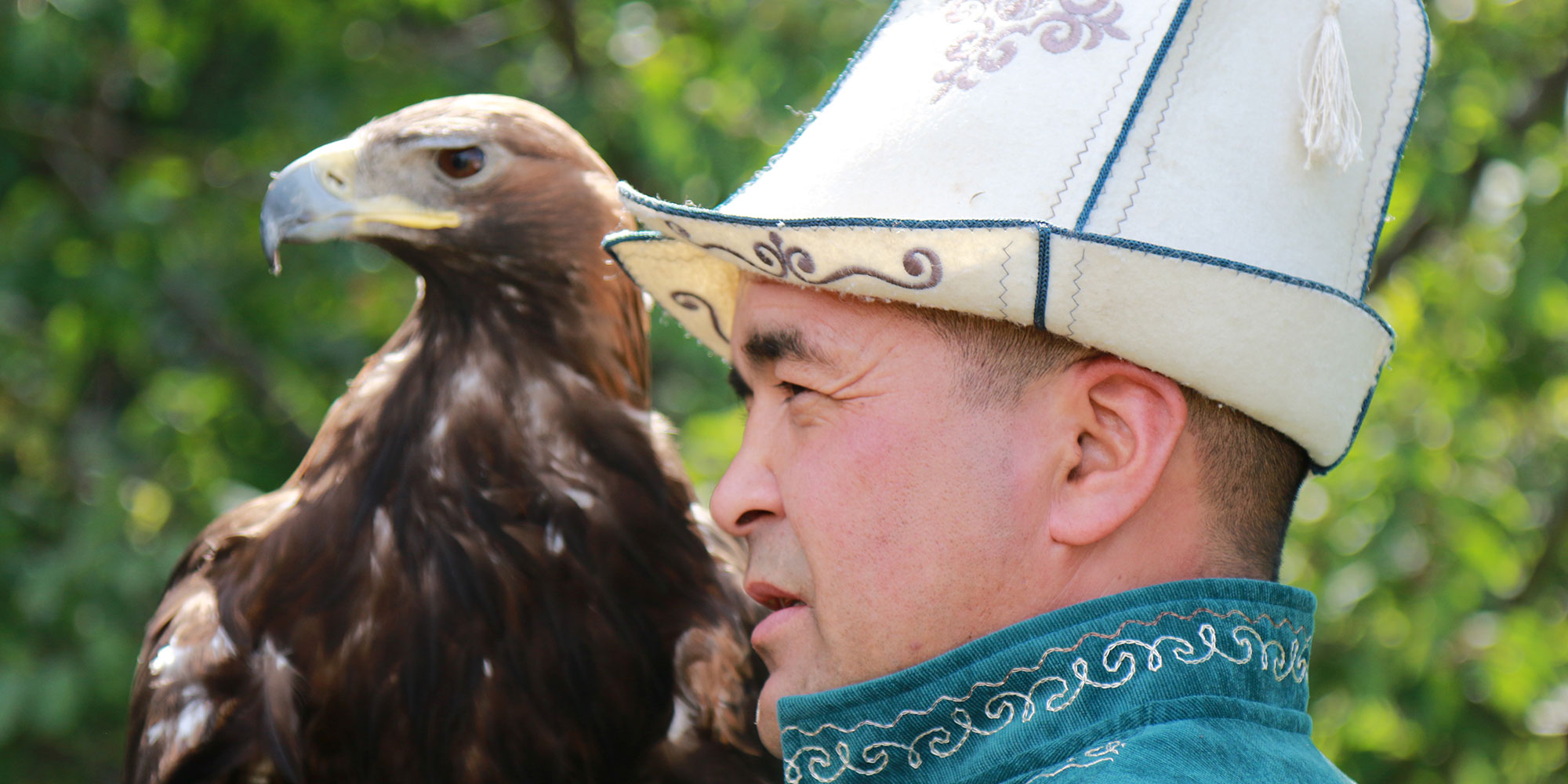 Eaglehunter in Kyrgyzstan